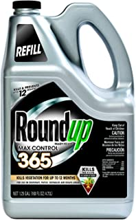 Roundup Max Control 365 Ready-to-Use Refill for Comfort Wand Sprayer, 1.25-Gallon (Weed Killer Plus Weed Preventer) (Not Sold in NY)