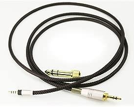 NewFantasia Replacement Audio Upgrade Cable for Sennheiser HD4.40, HD 4.40 BT, HD4.50, HD 4.50 BTNC, HD4.30i, HD4.30G Headphones 1.2meters/4feet