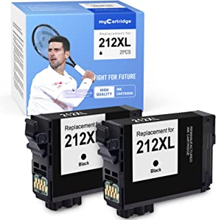 MYCARTRIDGE Remanufactured Ink Cartridge Replacement for Epson 212XL 212 XL T212XL T212XL120 Work for WF-2830 WF-2850 Prin...