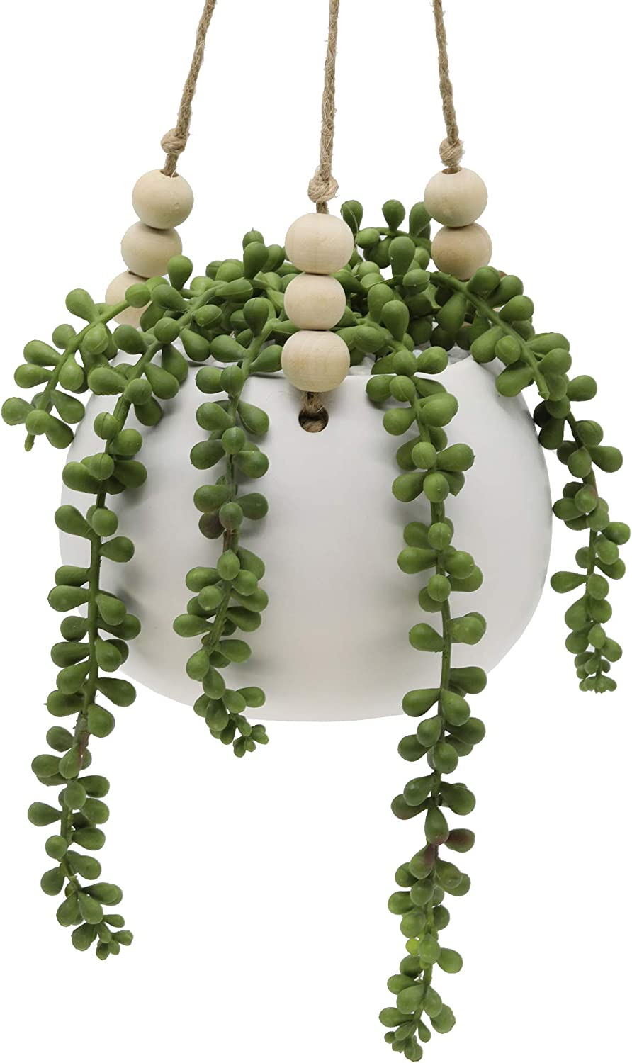 Flora Bunda Artificial Succulent Faux Fashionable Plant String of P 5.5 inch NEW before selling