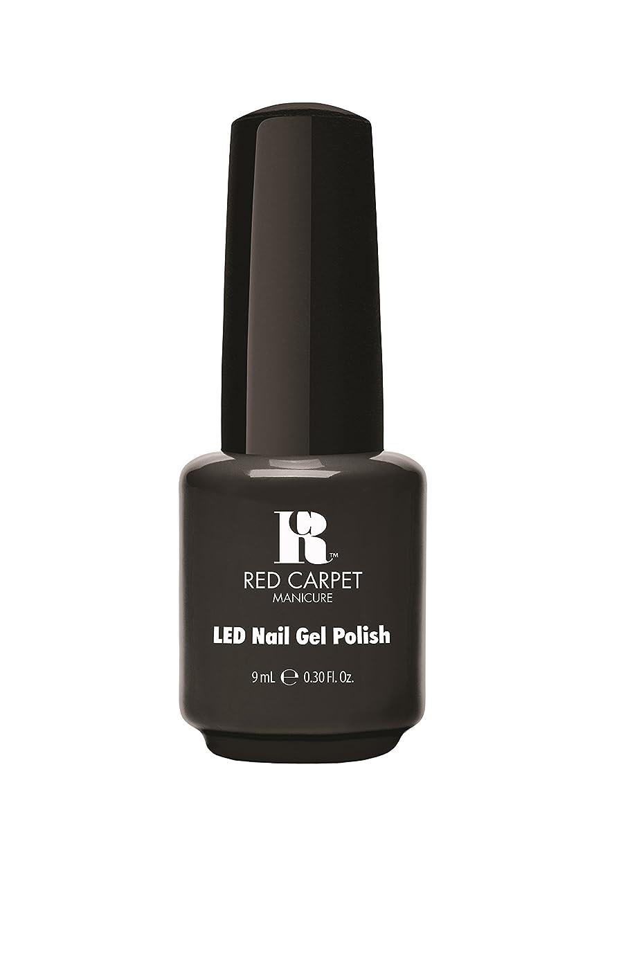 スズメバチ鎖船員Red Carpet Manicure - LED Nail Gel Polish - Secret Society - 0.3oz/9ml