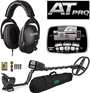 Garrett AT PRO with MS-2 Headphones and 50