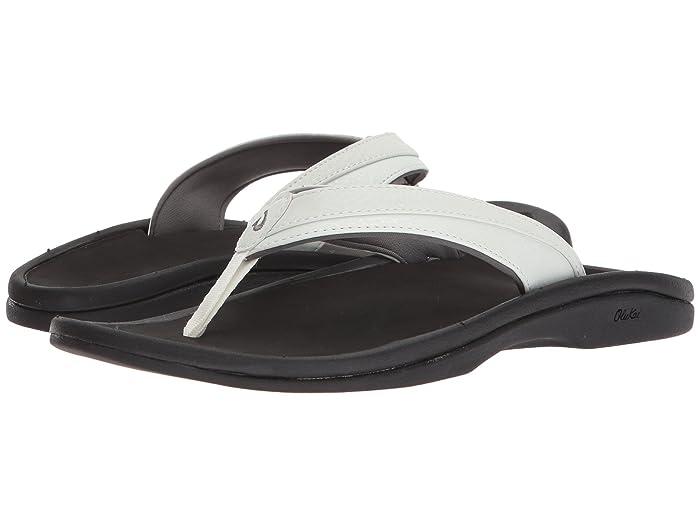 Ohana W  Shoes (White/Black) Women's Sandals