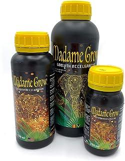 MADAME GROW / Fertilizantes Orgánico Marihuana o Cannabis/Raíz y Crecimiento/Superconcentrado/Growth Accelerator/Tallos Fuertes/Raíces Blancas (250 ml)