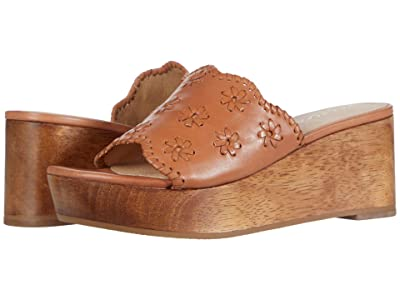 Jack Rogers Rory Wedge (Caramel) Women