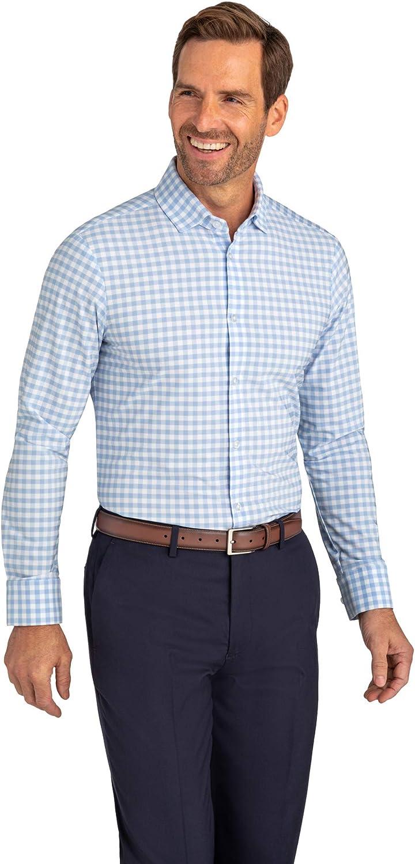 Mizzen + Main Men's Leeward Dress Shirt - Button Down Long Sleeve