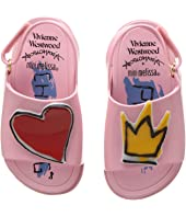 Vivienne Westwood - Mini Anglomania + Melissa Beach Slide Sandal (Toddler)