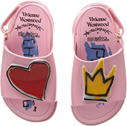 + Melissa Luxury Shoes Vivienne Westwood Mini Anglomania + Melissa Beach Slide Sandal (Toddler)