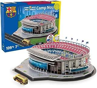 puzzle 3d stadium camp nou