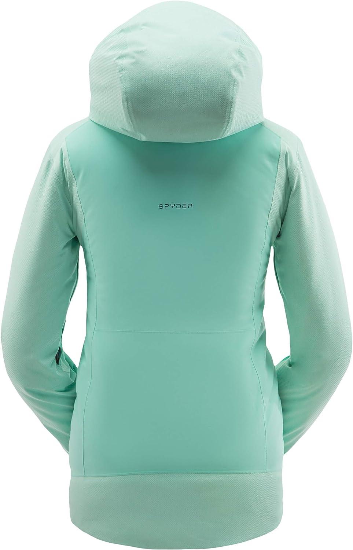 Spyder Women's Voice Gore-Tex Ski Jacket – Hoode 別倉庫からの配送 Full-Zip Ladies 大注目