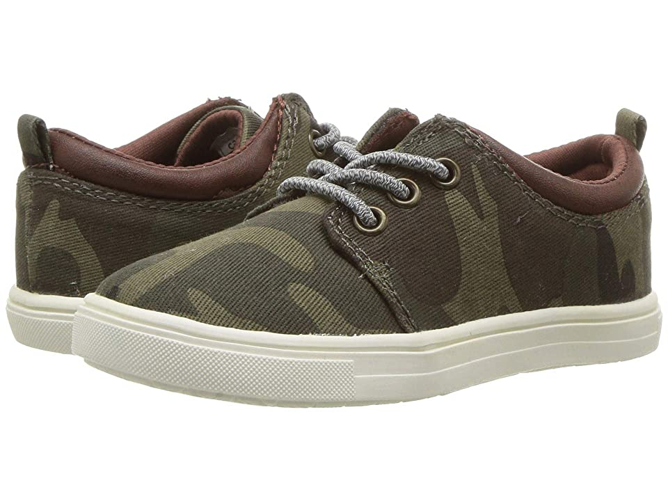Carters Limeri 2 (Toddler/Little Kid) (Camo PU/Harringbone) Boy