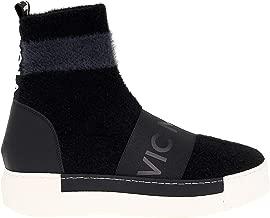VIC MATIÉ Luxury Fashion Womens IT6704BLACK Black Ankle Boots | Season Permanent