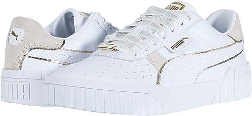 Puma White/Puma Team Gold
