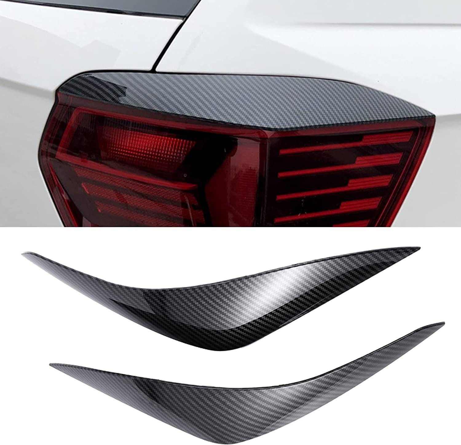 Piaobaige Car Headlights Eyelids Ranking TOP11 Eyebrow Cover Same day shipping ABS Stickers Trim