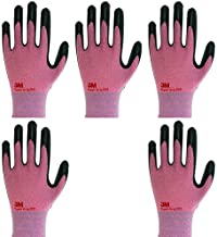 3M Lightweight Nitrile Work Gloves Supegrip200, 3D Comfort Stretch Fit, Durable Power Grip Foam Coated, Smart Touch, Thin ...