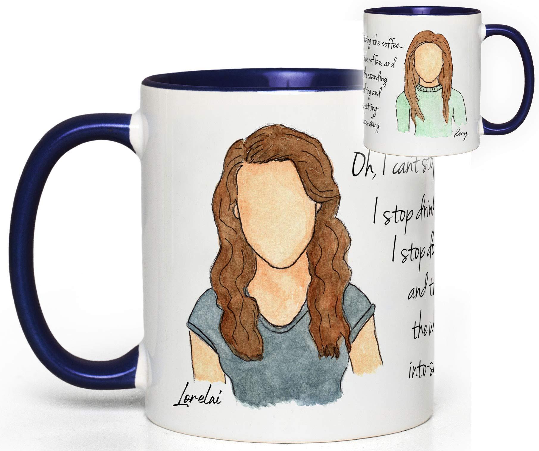 Gilmore Girls (Rory & Lorelai) TV Quote Mug Fan Gift