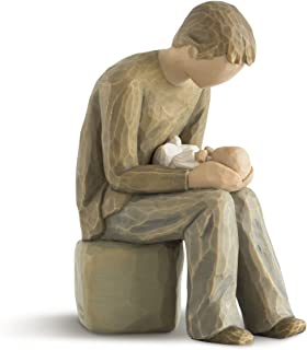 Willow Tree New Dad, sculpted hand-painted figure