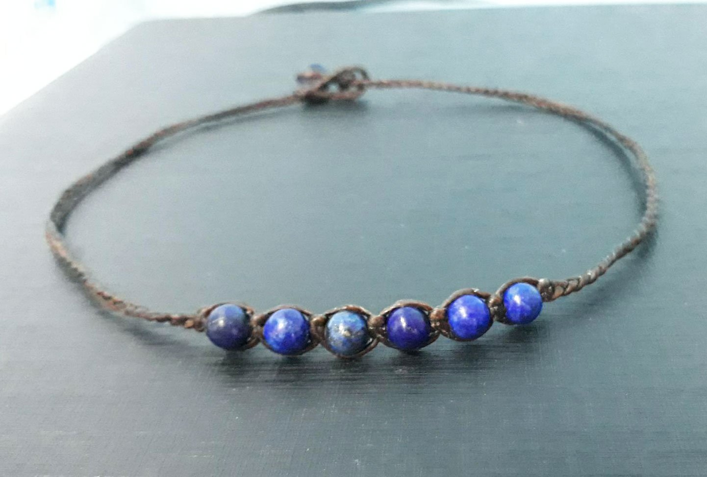 6 Max 61% OFF mm Be super welcome lapis stone choker necklaces and women for neckl beaded men