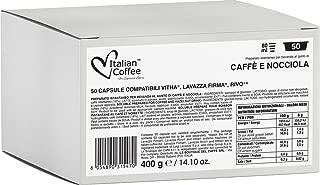 Lavazza Keurig Rivo compatible capsules, Espresso Italiano pods (Hazelnut Mocha, 50 Pods)