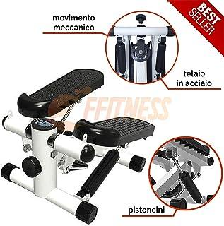 FFitness Mini Stepper Ffitnes, Strumento Professionale per l'home Fitness Unisex Adulto, Bianco