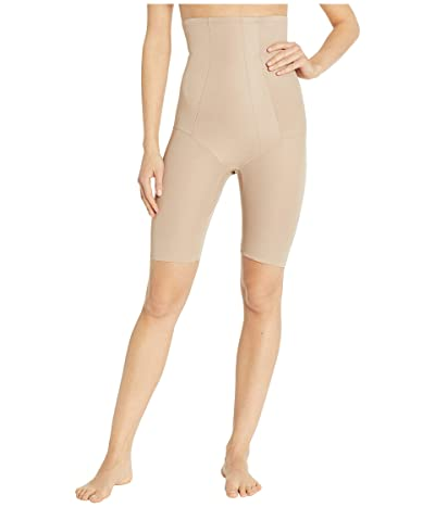 Miraclesuit Shapewear Extra Firm Shape with an Edge Hi-Waist Long Leg (Stucco) Women