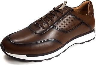 Zara Men Brown retro sneakers 5213/302