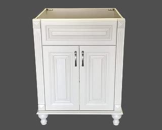 New Antique White Single-Sink Bathroom Vanity Base Cabinet 24