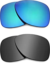 SEEK Lenses Compatible with OAKLEY DISPATCH 2 Polarized Blue & Silver