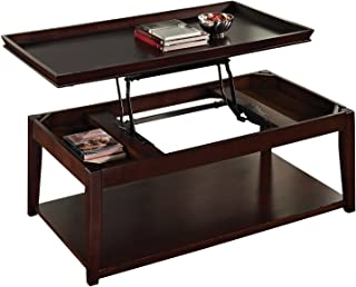Steve Silver Company Clemson Lift-Top Cocktail Table with Casters