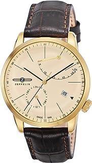 [ツェッペリン]ZEPPELIN 腕時計 Flat Line アイボリー文字盤 7368-5 メンズ 【並行輸入品】