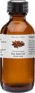 Anise Star Essential Oil - 2 fl oz -100% Pure and Natural - Therapeutic Grade - Grandma's Home
