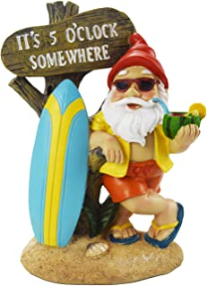 Garden Gnome Statue Funny Naked Beach Resin Figurine for Lawn Ornament Indoor Outdoor Garden Crafts Decoration YUESUO 1pc//2pcs//4pcs Naked Gnome Statue Couple Lying Couple