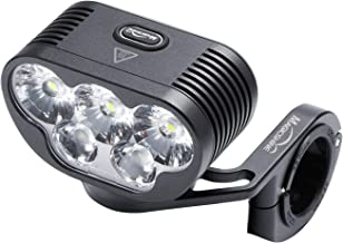 Magicshine Monteer 6500 Mountain Bike Headlight, 6500 lumens of Actual max Output MTB Light with 3X CREE XHP50.2 and 2xXM-L2 Spot/Food/Combo Beams, 10500mAh Super high Capacity Battery Pack