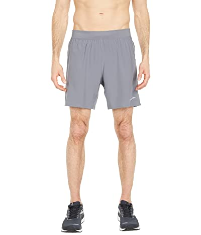 Brooks Sherpa 7 Shorts (Steel/Ash) Men