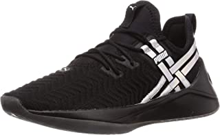 PUMA Women's JAAB XT Iridescent TZ Fitness & Cross Training, Black, 7.5 US