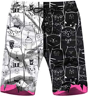 Set S Black White Cats Animals Animal Men's Swim Trunks Beach Short Board Shorts XXL
