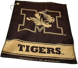 Team Golf NCAA Crimson Tide Jacquard Woven Golf Towel, 16