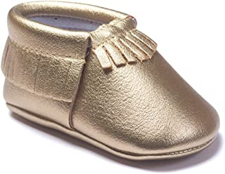 Baby Boys Girls Tassel Soft Soled Non-Slip Crib Shoes Moccasins First Walkers