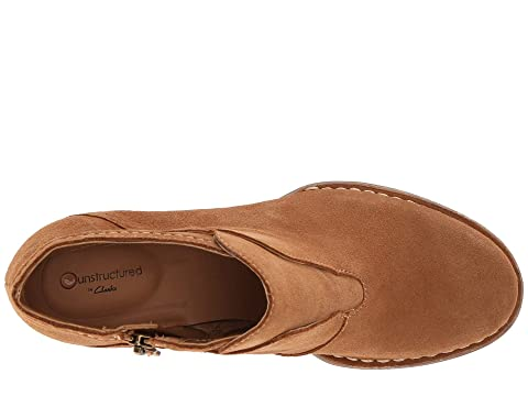 Clarks York SuedeTaupe Oiled Tan Carleta Leather rpwqafr5