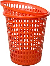 mastBus Durable Unbreakable 50 L Laundry Basket with Cap (Royal Red)