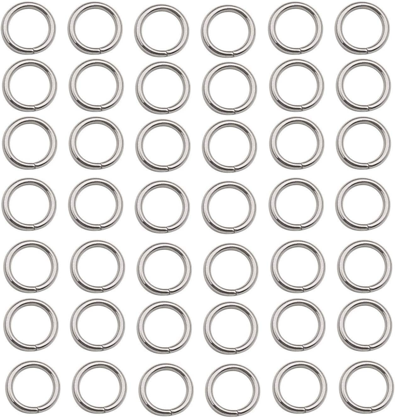 500 Brand Cash special price Cheap Sale Venue pcs Stainless Steel Split Rings Jump Connector f