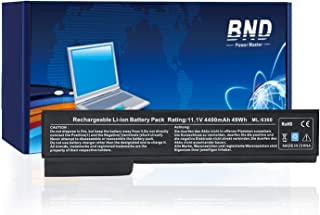 BND Laptop Battery Compatible with HP EliteBook 8460P 8470P 8560P 8570P;ProBook 6470B 6570B 6460B 6560B,fits P/N CC06/QK642AA/628666-001/HSTNN-F08C/HSTNN-LB2H-12 Months Warranty [4400mAh/49Wh Li-ion]