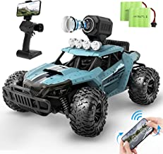 DEERC RC Cars DE36W Remote Control Car with 720P HD FPV Camera, 1/16 Scale Off-Road Remote Control Truck, High Speed Monst...