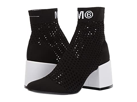 MM6 Maison Margiela Open Knit Sock Bootie