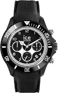 Ice-Watch - ICE dune Black - Montre noire pour homme avec bracelet en silicone - Chrono