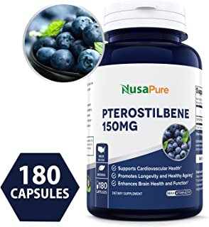 pteroblue pterostilbene resveratrol