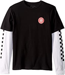 Checker Twofer T-Shirt (Big Kids)