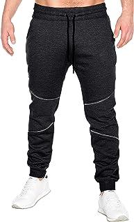 3f2faf23132d3 MODCHOK Homme Pantalon Jogging Sarouel Survêtement Sweat Pants Sport Casual  Formation