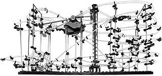 Deuba Murmelbahn Aerospace Größe XL - 682 Teile - 2x16 Meter Schienenlänge - Kugelbahn - unterschiedliche Bauweisen Tüftler anspruchsvoll