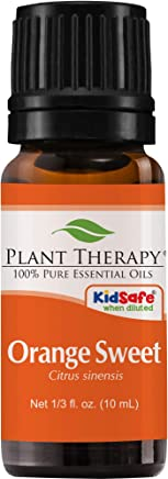 Plant Therapy Orange Sweet Essential Oil   100% Pure, Undiluted, Natural Aromatherapy   10 mL (1/3oz)